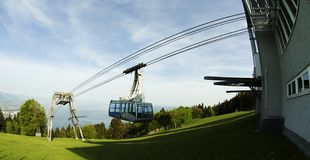 Pfänder Cable car Bregenz Stock Image