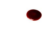 Pfütze des Bluts stockfotos