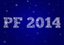 PF 2014 Obraz Stock