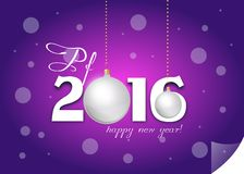 Pf 2016 greeting card Stock Photos