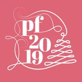 PF 2019. pour féliciter. royalty free stock images