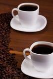 Pf van Cupos koffie Stock Foto