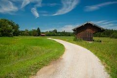 Pfad um den See Staffelsee im Bayern Stockfoto