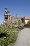 Pfad zu Wawel Lizenzfreies Stockfoto