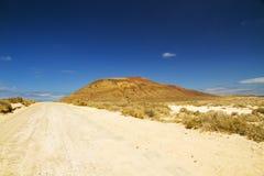 Pfad zum Vulkan Lizenzfreies Stockbild
