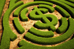 Pfad zur Finanzfreiheit Stockbild
