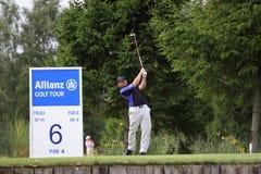 Pfaller cristiano a golf Prevens Trpohee 2009 Fotografie Stock