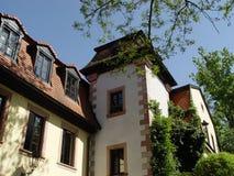 Pfalz-Landhaus stockfotos
