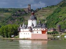 Pfalzgrafenstein castle Stock Images