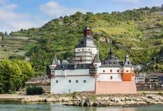 Pfalzgrafenstein Castle, Germany Royalty Free Stock Photos