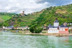 Pfalzgrafenstein Castle Royalty Free Stock Image