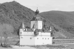 Pfalzgrafenstein Castle is a toll castle on the Falkenau island, otherwise known as Pfalz Island i. Pfalzgrafenstein Castle German: Burg Pfalzgrafenstein is a stock photo