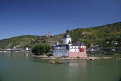 Pfalzgrafenstein de Castel Imagens de Stock