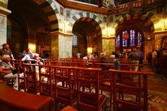 Pfalzkapelle Aachen domkyrka Arkivfoto