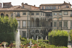 Pfanner Palace, garden view, Lucca, Italy Royalty Free Stock Photos