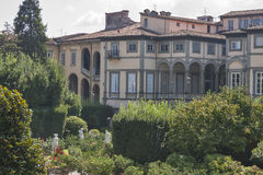 Pfanner Palace, garden view, Lucca, Italy Royalty Free Stock Photo