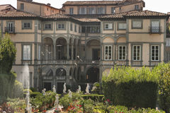 Pfanner Palace, garden view, Lucca, Italy Stock Photography