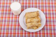 Pfannkuchen. lizenzfreie stockbilder