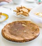 Pfannkuchen auf russische Art Stock Images