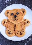 Pfannkuchen für Kinder stockfotografie