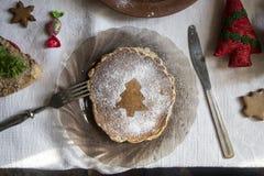 Pfannkuchen zum Frühstück Stockfotos