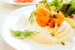 Pfannkuchen zum Frühstück Lizenzfreies Stockbild