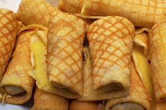 Pfannkuchenfrühstück Stockfoto