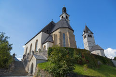 Pfarrkirche St. Andreas and Church of Our Lady (Liebfrauenkirche Stock Images