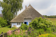 Pfarrwitwenhaus in Gross Zicker, Ruegen Island Royalty Free Stock Photo