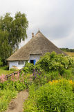 Pfarrwitwenhaus in Gross Zicker, Ruegen Island Royalty Free Stock Images