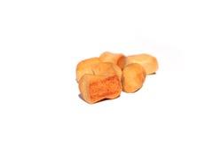 Pfeffernüsse u. x28; pepernoten& x29; , ein niederländischer Feiertag/ein Sinterklaas-Snack Stockbild