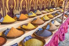 Pfeffern Sie, arabische Gewürze, verschiedene Arten von Würzen für das Kochen, Stockfotografie