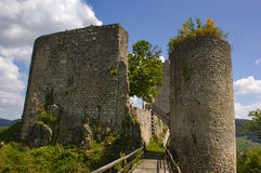 Pfeffingen城堡 库存图片