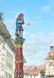 The Pfeiferbrunnen fountain Stock Images