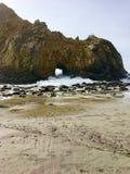 Pfeiffer beach Big Sur California USA. Pfeiffer beach Big Sur California Royalty Free Stock Image