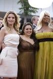 Pfeiffer, Blonsky, et Latifah Photo libre de droits