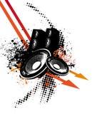 Pfeil-Musik Lizenzfreie Stockbilder