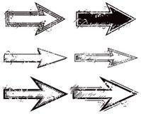 Pfeil-Satz stock abbildung