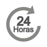 Pfeil 24 Stunden Service Stockfotografie