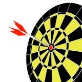Pfeil und Ziel Lizenzfreies Stockfoto