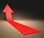 Pfeil-Wachstum Lizenzfreie Stockfotos