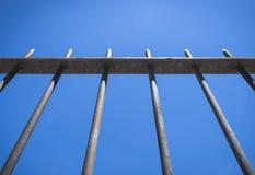 Pfeil-Zaun für Schutz Lizenzfreie Stockbilder
