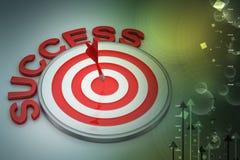 Pfeil-Ziel-Erfolgs-Geschäfts-Konzept vektor abbildung