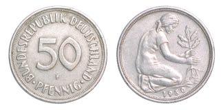 Pfennig-Münze Stockbilder