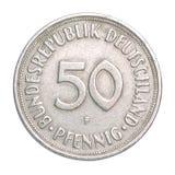 Pfennig-Münze Stockfotografie