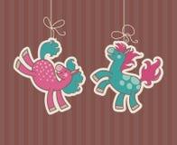 Pferd-Paare Stockbilder