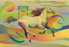 Pferd-Zeit Stockfoto