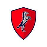 Pferde Logo Template Lizenzfreie Stockfotos