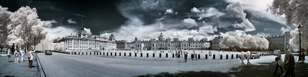 Pferdeabdeckungen führen, London vor Stockbilder