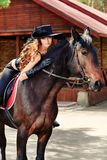 Pferdeartig lizenzfreie stockfotografie